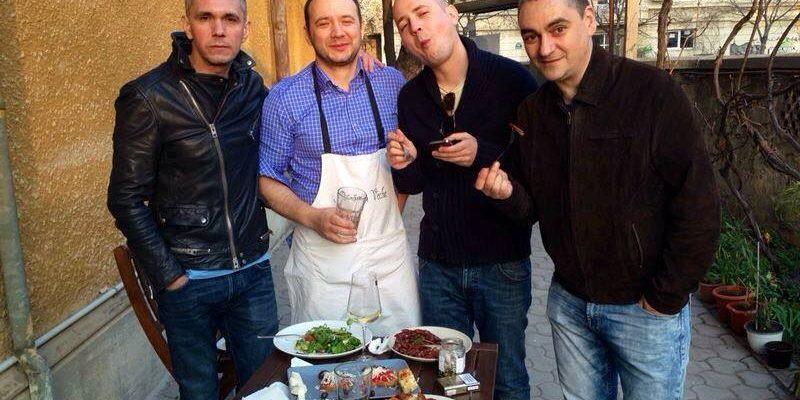 Claudiu Serban, Marius Tudosiei, Dragos Varsandan, Horia Ghibutiu
